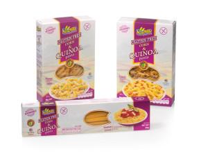 Sam Mills Corn & Quinoa pasta