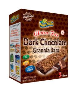 Sam Mills Granola Bars Dark Chocolate