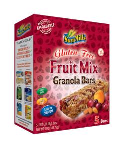 Sam Mills Granola Bars Fruit Mix