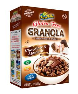 Sam Mills Granola Chocolate & Almonds