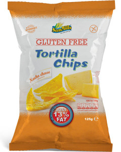 Sam Mills Tortilla Chips Nacho Cheese