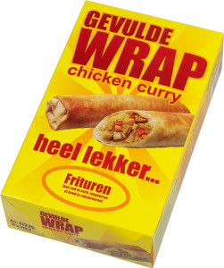 Wrap Chicken Curry box