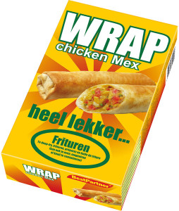 Wrap Chicken Mex box