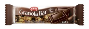 Emco GF Granola Bars Dark Chocolate