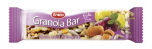 Emco GF Granola Bars Fruit & Almonds