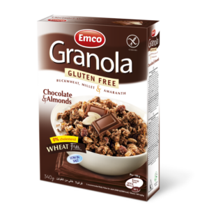 Emco GF Granola Chocolate & Almonds